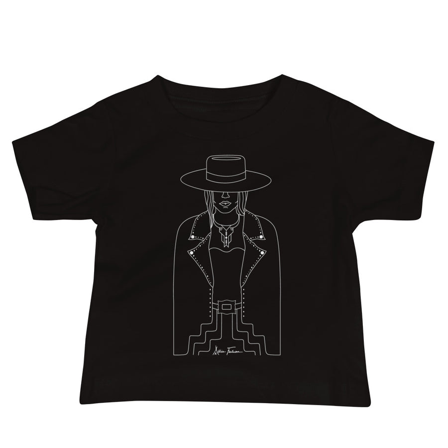 Lady Outlaw Baby Tee