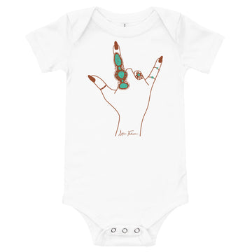 Love Language Onesie - White