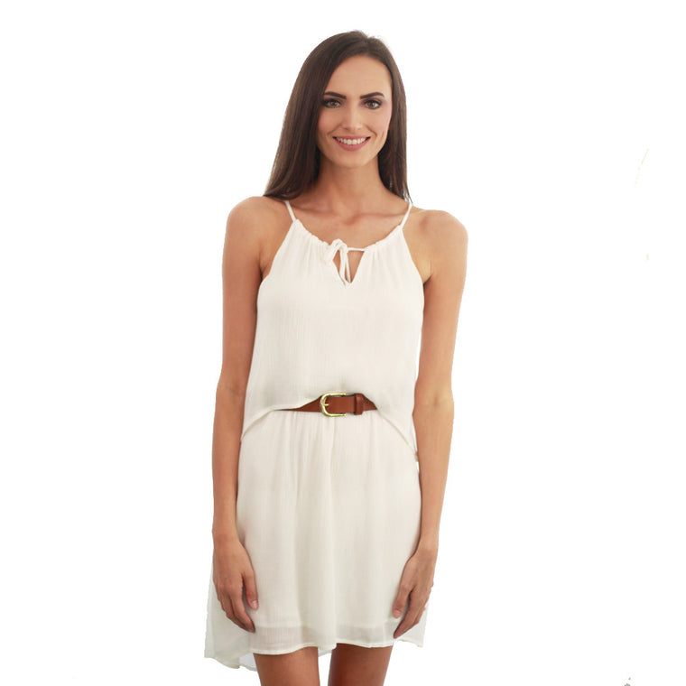Alison Dress - White