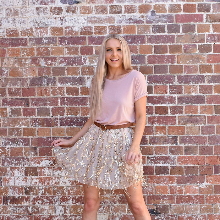 Chandelier Skirt - Friday Clothing Company