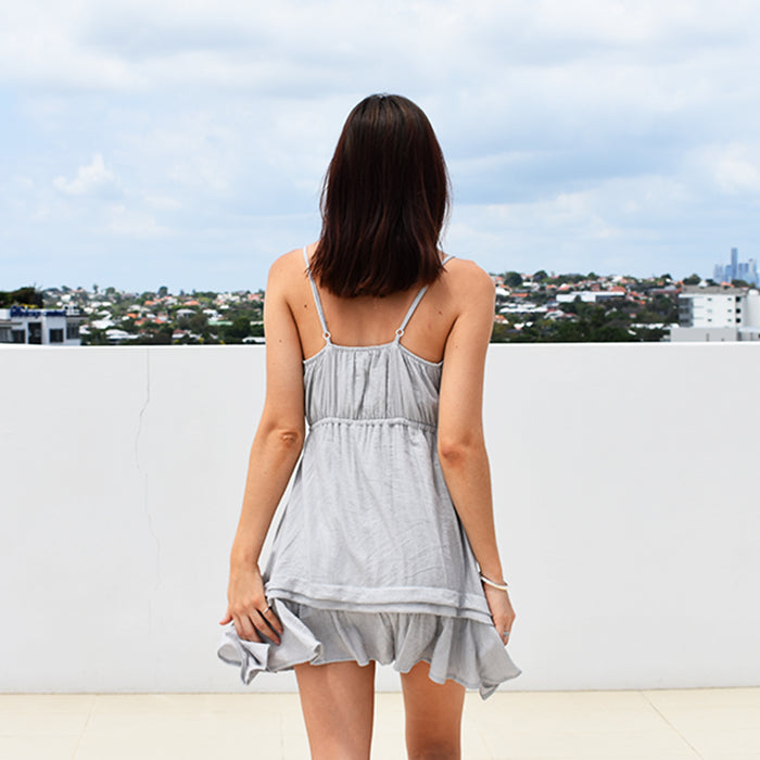 Dreamer Dress - Dove Grey