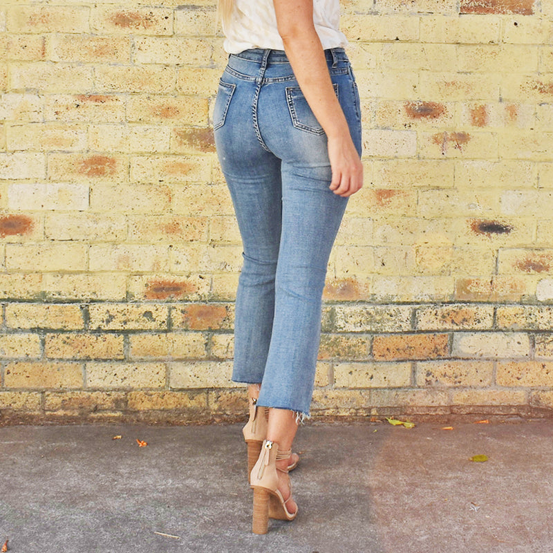 Dylan Step Hem Jeans - Friday Clothing Company