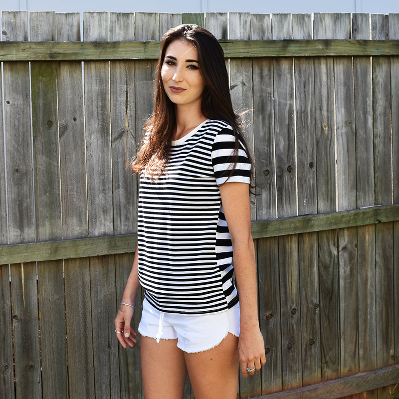 Stripey T-Shirt - Friday Clothing Company