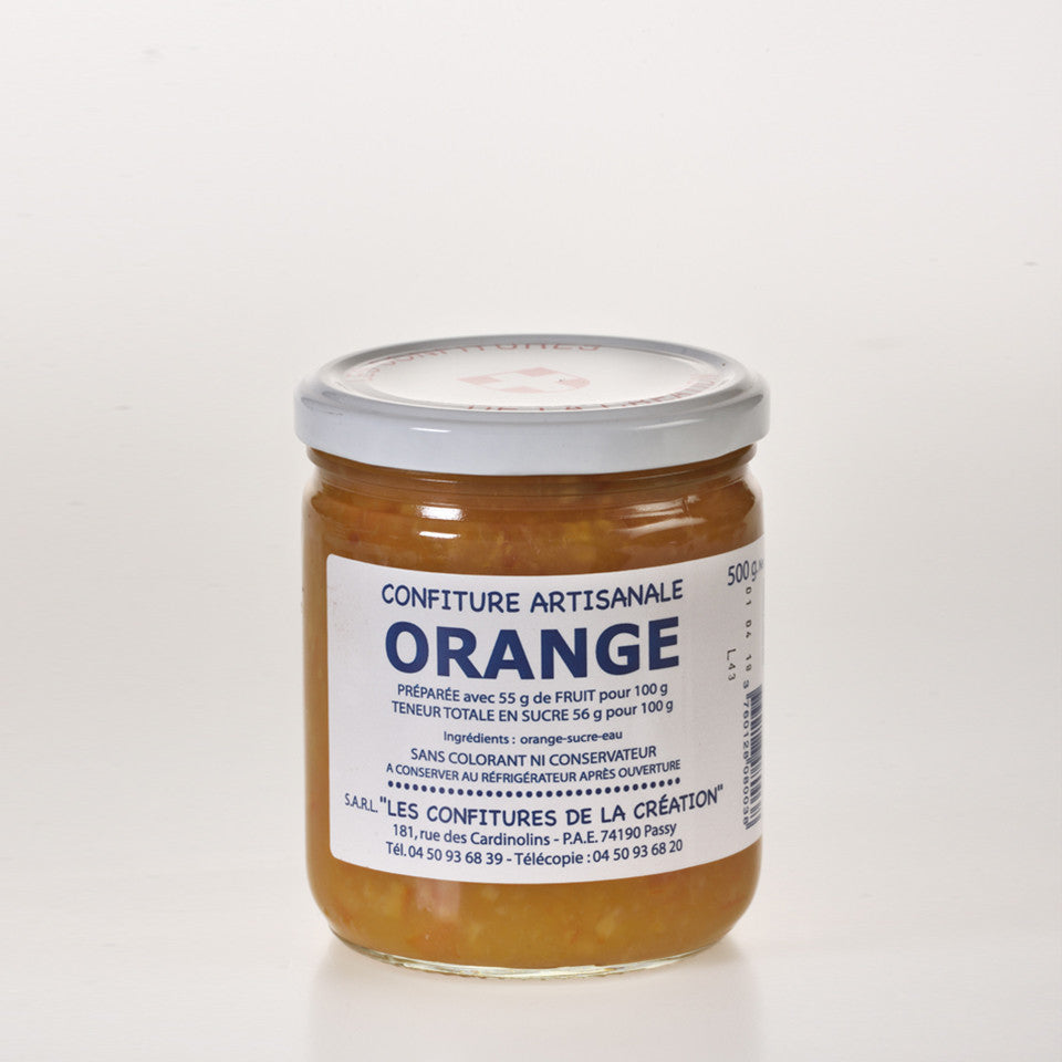 Les Confitures De La Creation - Confiture d'Oranges  - 500g