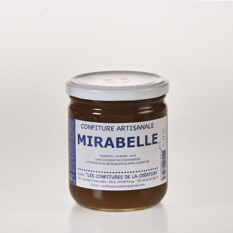 Les Confitures De La Creation - Confiture de Mirabelles  - 500g