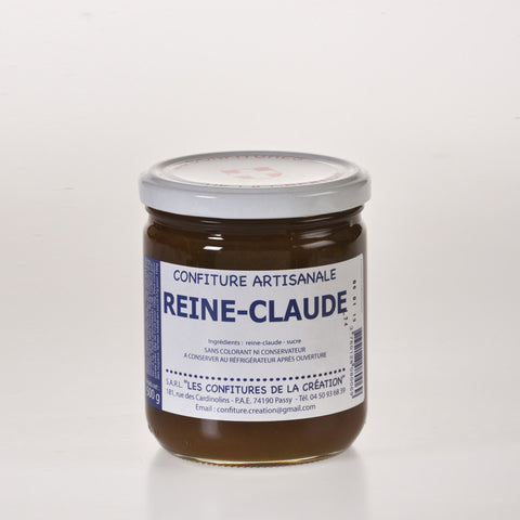 Les Confitures De La Creation - Confiture de Reine-Claude  - 500g