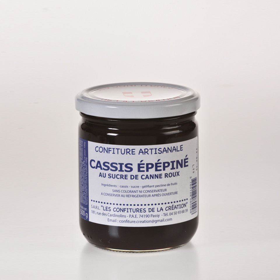 Les Confitures De La Creation - Confiture de Cassis  - 500g