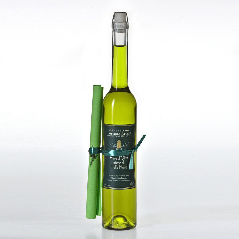 Moulin Fortuné Arizzi - Huile d'Olive Truffée - 100 ml