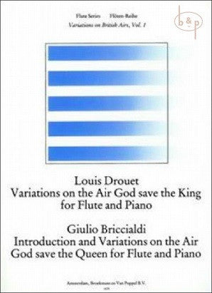 Drouet-Briccialdi/ editor Trevor Wye - God Save the King/Queen Album  Variations on British Airs Vol. 1