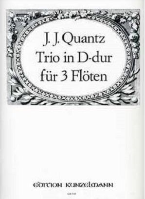 Quantz, Johann Joachim: Trio (Sonatina) in D Major