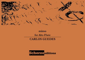 Guedes, Carlos  - Mimo for Alto Flute