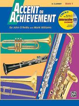 Accent on Achievement Bk 1 B Flat Clarinet Bk/Cd