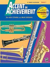 Accent on Achievement Bk 1 B Flat Tenor Saxophone Bk/Cd