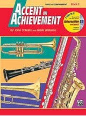 Accent on Achievement Bk 2 Piano Accompaniment