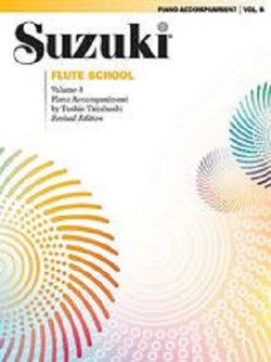 Suzuki Flute School Volume 8 Piano Accompaniment
