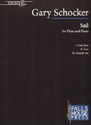 Schocker, G - Sail for flute and piano