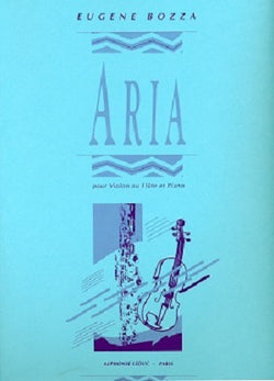 Bozza, E - Aria for flute and piano (Leduc)