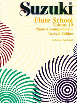 Suzuki Flute School Volume 10 Piano Accompaniment