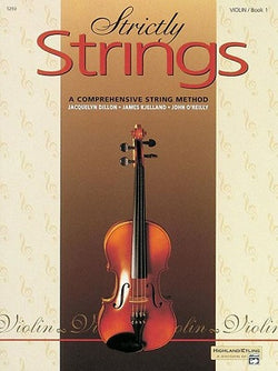 Strictly Strings Book 1 Violin