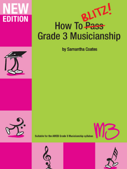 Coates, Samantha - How to Blitz Musicianship Grade 3