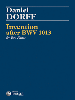 Dorff - Invention After BWV 1013 for Two Flutes