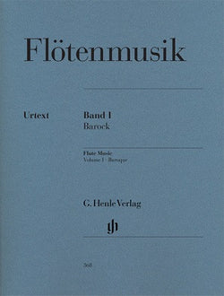 Flute Music Volume 1 Baroque Period