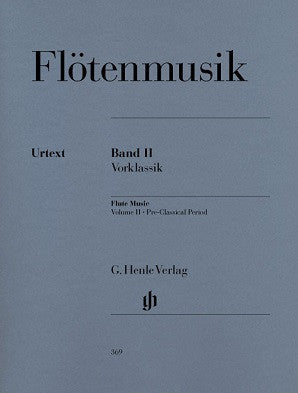 Flute Music Volume 2 Pre-Classical Period