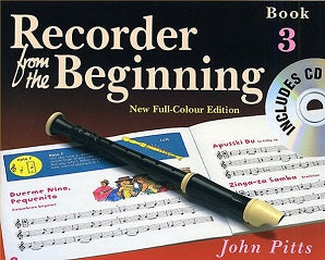 Pitts, J - Recorder From The Beginning Pupils Bk 3 Bk/CD