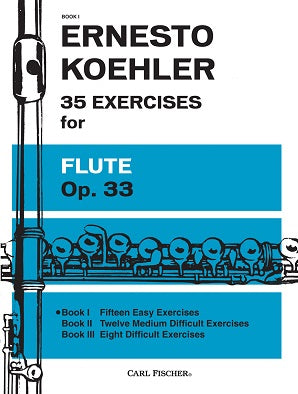 35 Exercises for Flute Op 33 Book 1 Nos 1-15