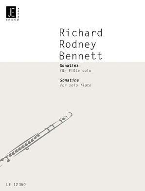 Bennett Richard Rodney -  Sonatina for Solo Flute