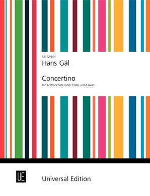 Gal, Hans - Concertino for Flute Op 82