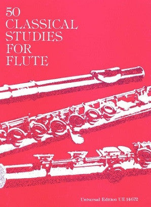50 Classical Studies for Flute Ed Vester (UE)