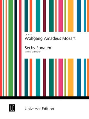 Mozart W,A -  Six Sonatas for Flute and Piano Volume 1