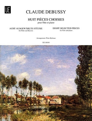 Debussy, C -  8 Selected Pieces for Flute and Piano