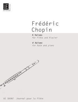 Chopin, F - 4 Valses for Flute and Piano