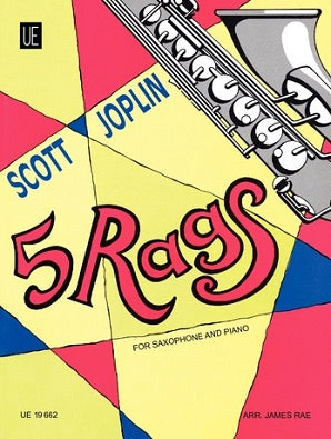 Joplin -  5 Rags for Saxophone and Piano