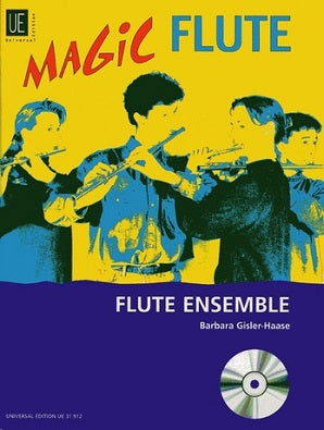 Magic Flute Flute Ensemble 1 Book/CD
