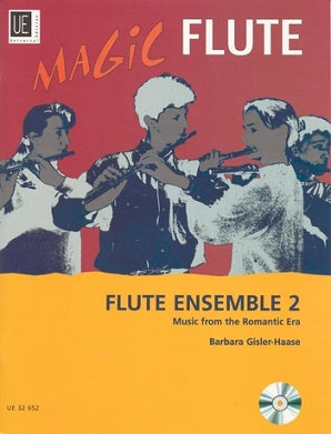 Magic Flute Flute Ensemble 2 Book/CD