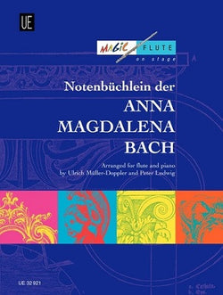 Notebook for Anna Magdalena Bach for Flute & Piano (Universal)