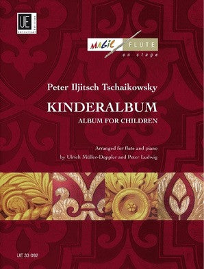 Tchaikovsky,  Peter - Album for the Young for Flute and Piano (Universal)