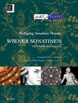 Mozart - Viennese Sonatinas for Flute and Piano (Universal)