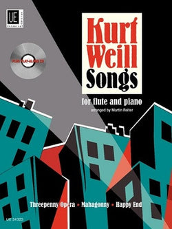 Kurt Weill Songs for Flute Book/CD (Universal)