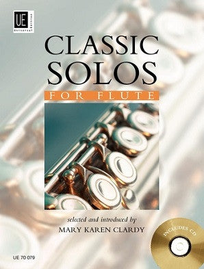Classic Solos for Flute 1 Book/CD (Universal)