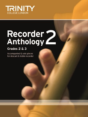 Trinity Recorder Anthology Book 2 Grades 2-3 Score & Part