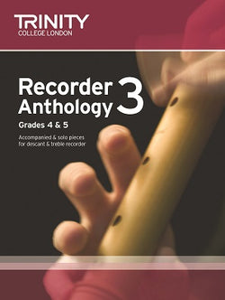 Trinity Recorder Anthology Book 3 Grades 4-5 Score & Part