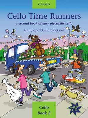 Cello Time Runners Bk/CD