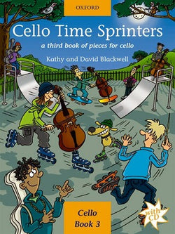 Cello Time Sprinters Bk/CD