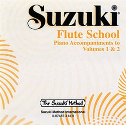 Suzuki Flute School Volume 1 & 2 Piano Accomp CD