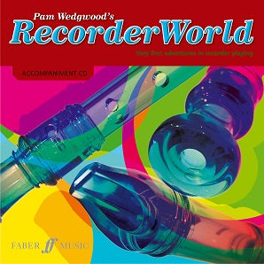 Wedgewood, Pam - Recorder World Accompaniment CD Books 1-2