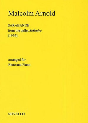Arnold, M - Sarabande for Flute and Piano
